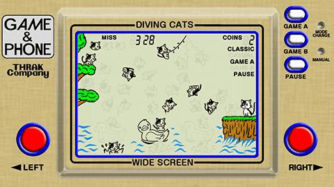 ねこだいぶ DIVING CATS -GAME & PHONE- (TC-01)